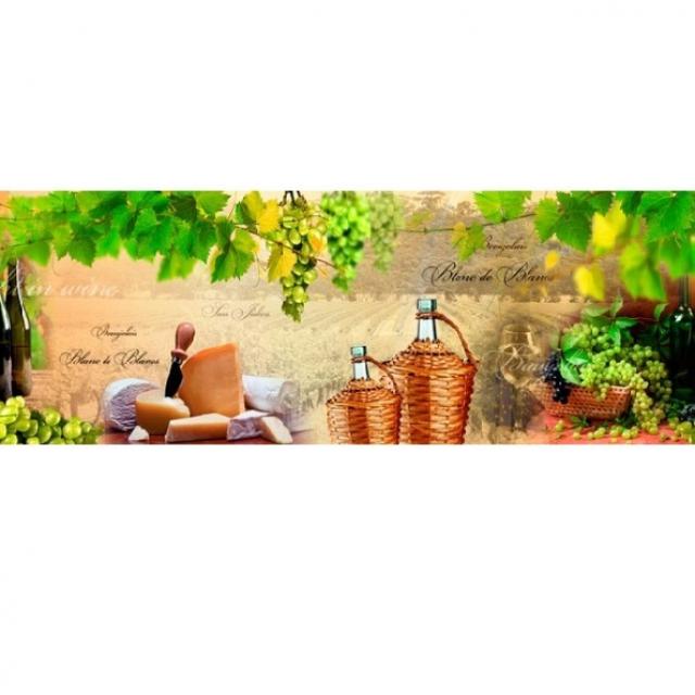 Фартук для кухни Вино и виноград (FM29)